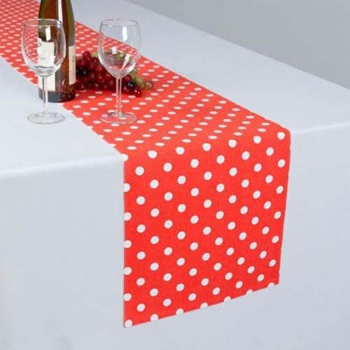 wholesale wedding satin cotton embroidered table runners suppliers