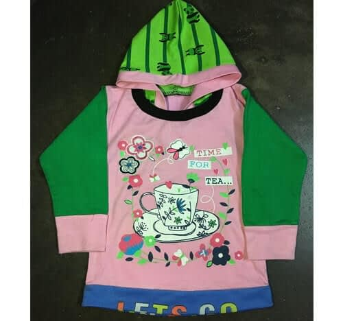 Kids hooded t shirt supplier and manufacturer in kolkata