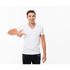 V neck tshirts manufacturers & wholesale bulk suppliers in kolkata, India