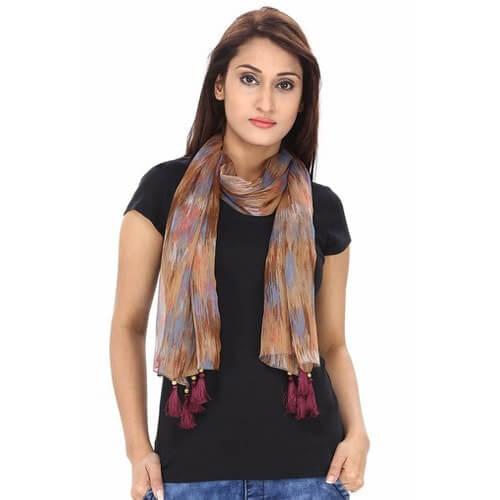 Cotton scarf manufacturer, exporter & supplier in Kolkata