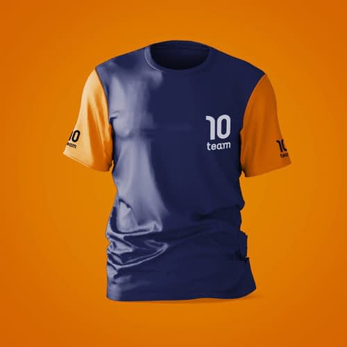 Short sleeve sports t shirts wholesale manufacturers in India