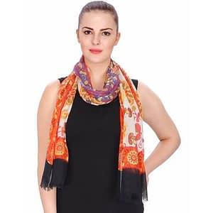 organic cotton wholesale white scarves manufacturers & suppliers made in India
