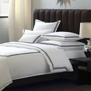 Plain white cotton bed sheet suppliers, manufacturers & exporters in India