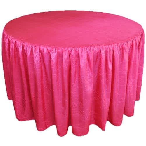Black & white table skirts wholesale suppliers